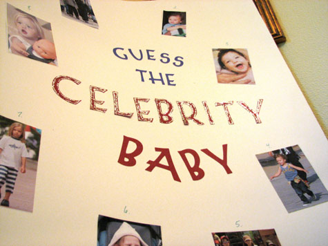 guess who celebrity baby